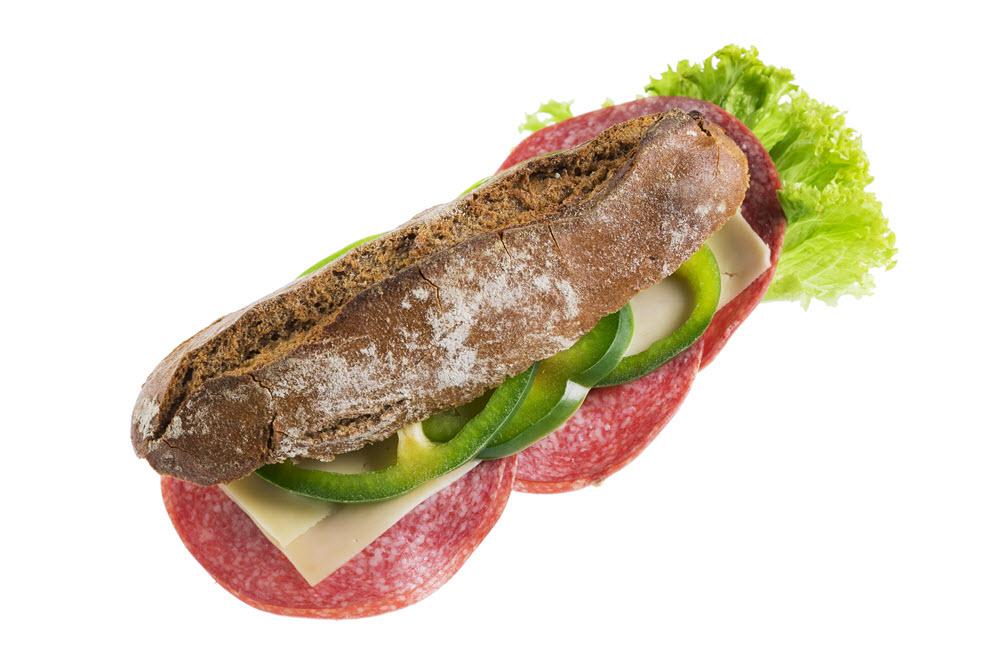 Hubertusspitz Salami Käse