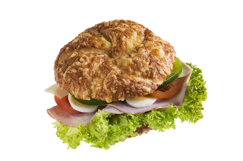 Käsesemmel Schinken Käse