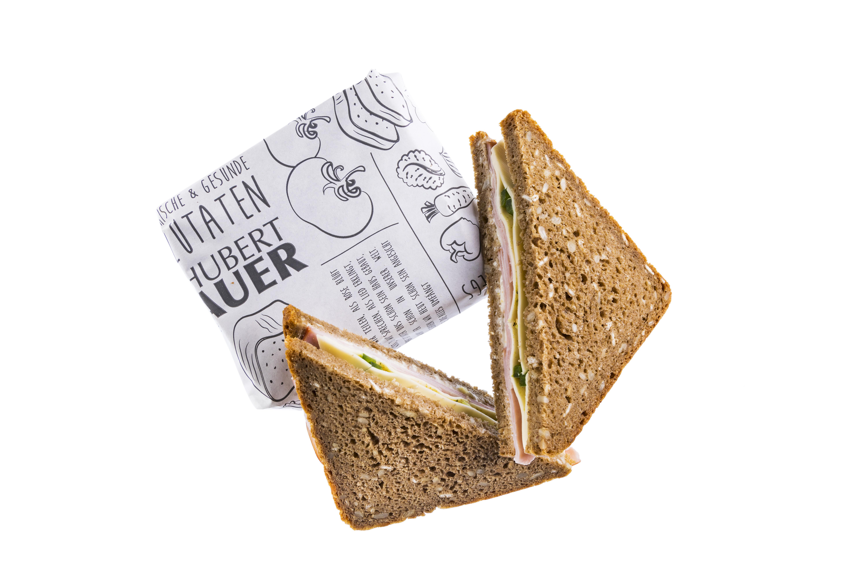 belegetes Brot Schinken